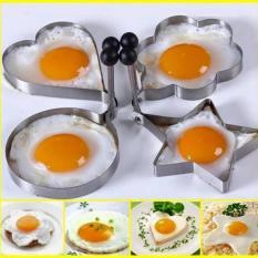Bộ 4 khuôn Inox chiên trứng, chiên bánh tiên lợi