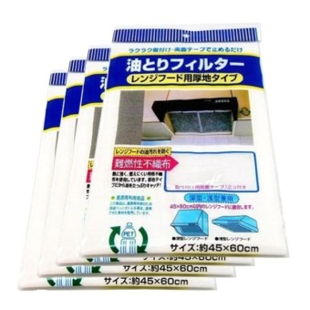Bộ 4 tấm lọc dầu chuyên dụng cho máy hút mùi usa store