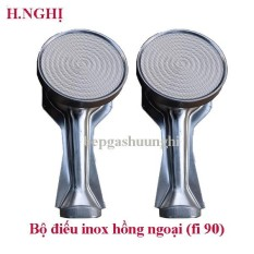 Bộ điếu inox hồng ngoại fi90mm sử dụng cho các dòng bếp hồng ngoại phổ thông cùng kích thước (trắng)