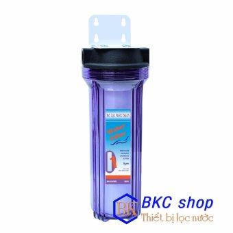 Bộ lọc nước sinh hoạt 1 cấp lọc 10 inch (trong)