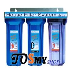 Bộ lọc nước sinh hoạt thông dụng 3 cấp lọc 10 inch