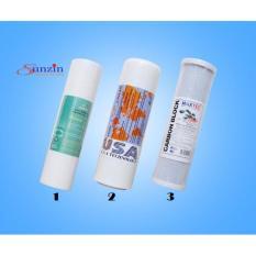 Bộ lõi lọc 1,2,3 dành cho máy lọc nước RO Tân Á