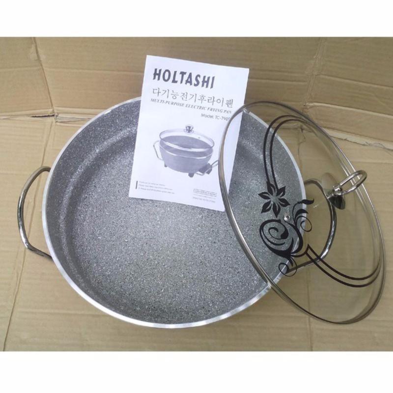 CHẢO ĐIỆN ĐA NĂNG HOLTASHI TC-7909(Bạc)