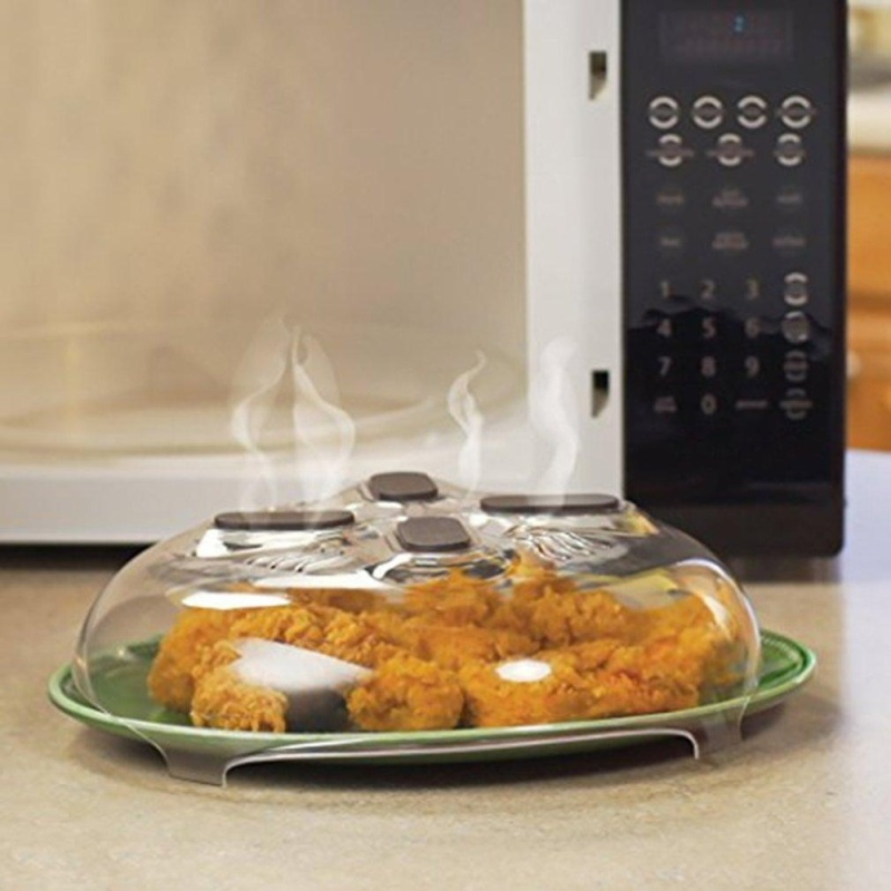 CHEER Magnet Splatter Guard Microwave Hover Anti-Sputtering Cover With Steam Vent - intl