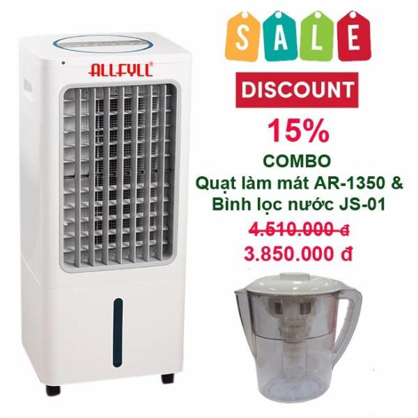 Bảng giá Combo air cooler Allfyll Thailand AR-1350 + Mini pitcher filter JS-01
