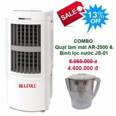 Bảng giá Combo air cooler Allfyll Thailand AR-2000 + Mini pitcher filter JS-01