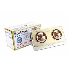 Ở đâu bán Đèn sưởi nhà tắm Kottmann 2 bóng K2B-G