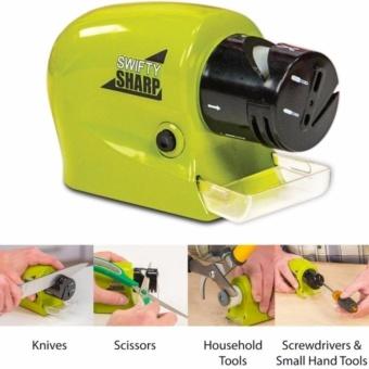 Dụng cụ mài dao kéo mini dùng pin siêu tiện dụng