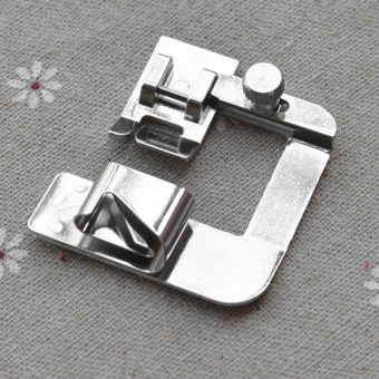 GOOD Domestic Household Multifunctional Sewing Machine Presser Foot Ruffle Crimping Silver - intl