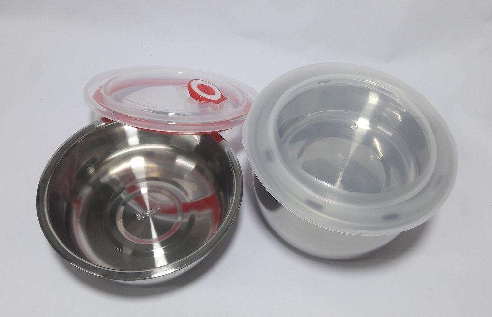 Hộp cơm điện hâm nóng SKG inox 3 ngăn cao cấp SKG118N (Nâu phốitrắng)