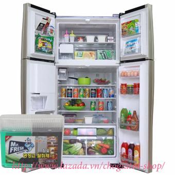 Hộp Gel khử mùi diệt khuẩn tủ lạnh Hàn Quốc 300Gr (Than hoạt tính)