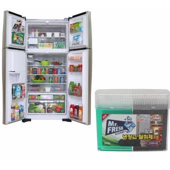 Hộp Gel than hoạt tính khử mùi diệt khuẩn tủ lạnh Hàn Quốc 300Gr