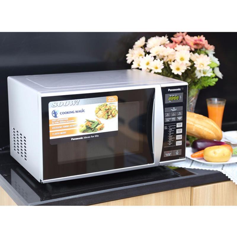 Lò vi sóng điện tử Panasonic NN-ST342MYUE (25 lit, 800W, 9 chế độ nấu tự động)