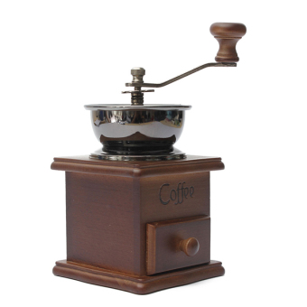 Manual Driven Coffee Vintage Retro Hand Grinder (Brown) - Intl