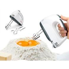 Máy Đánh Trứng Cầm Tay 7 Cấp Tốc Độ 180W – Trắng
