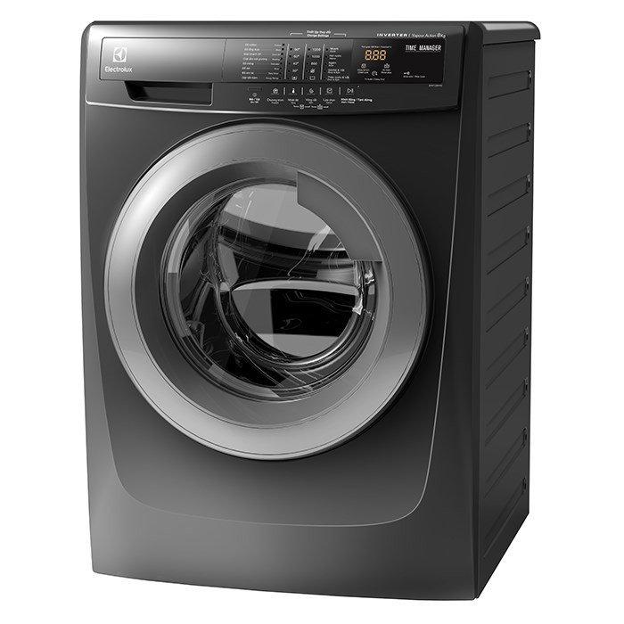 Máy giặt cửa trước 8kg Electrolux EWF12844S (Xám bạc)
