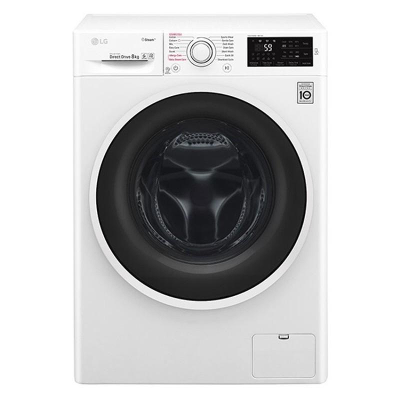 Máy giặt cửa trước Inverter LG FC1408S4W2 8 Kg (Trắng)
