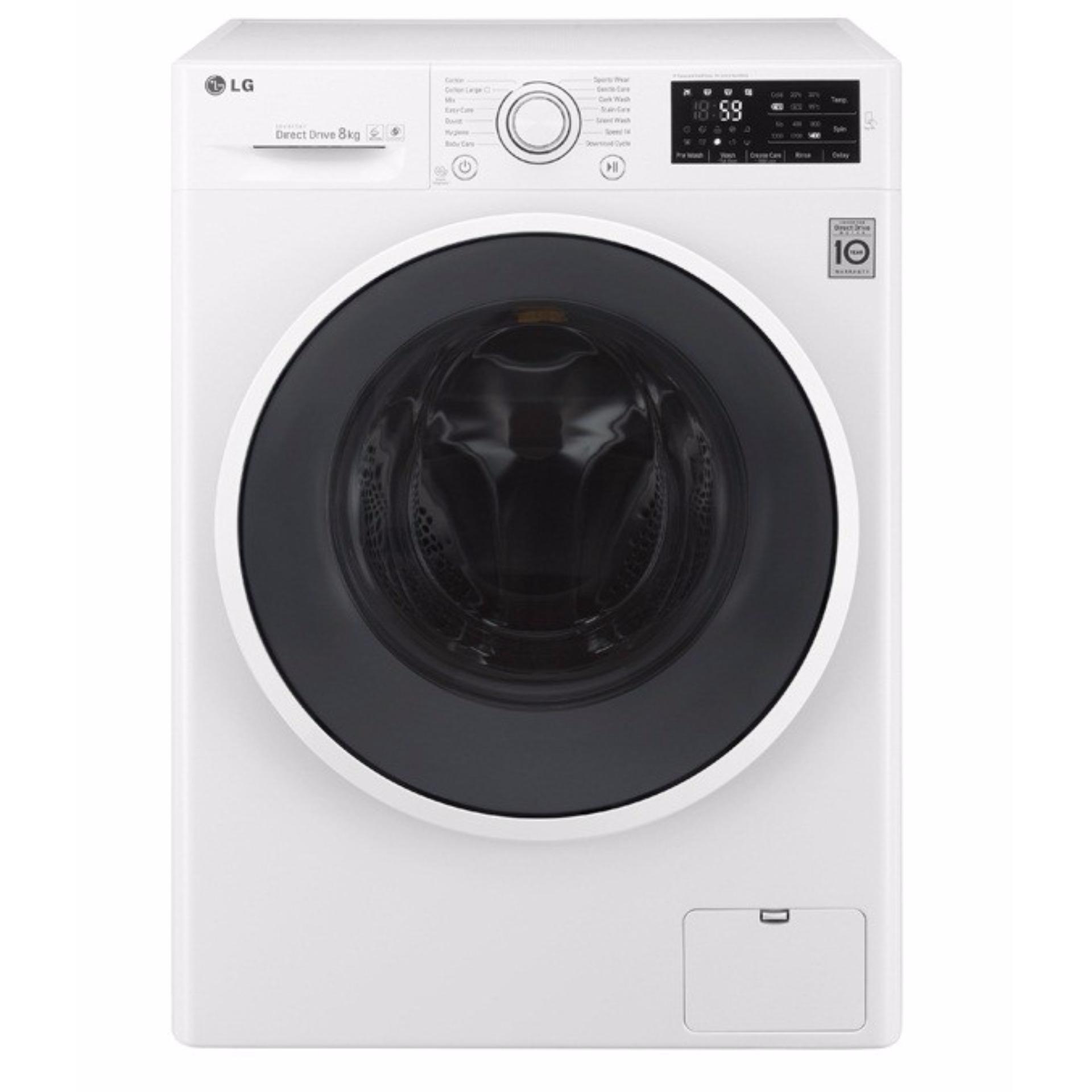 Máy giặt lồng ngang LG FC1408S4W1 (Trắng)