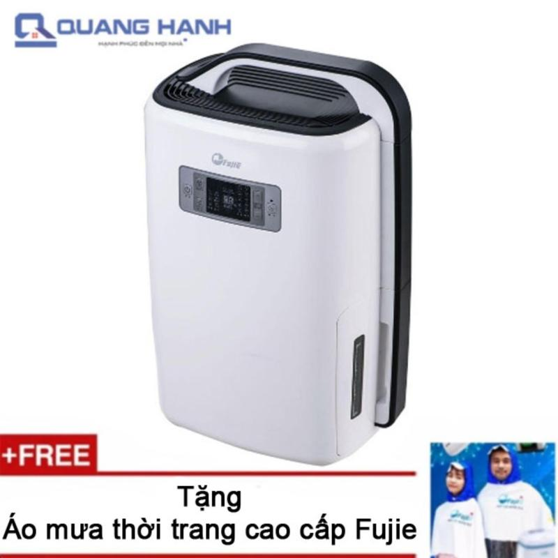 Bảng giá Máy hút ẩm Fujie HM-916EC 16 lít/ngày (Trắng) - Hãng phân phối + Tặng áo mưa Fujie cao cấp