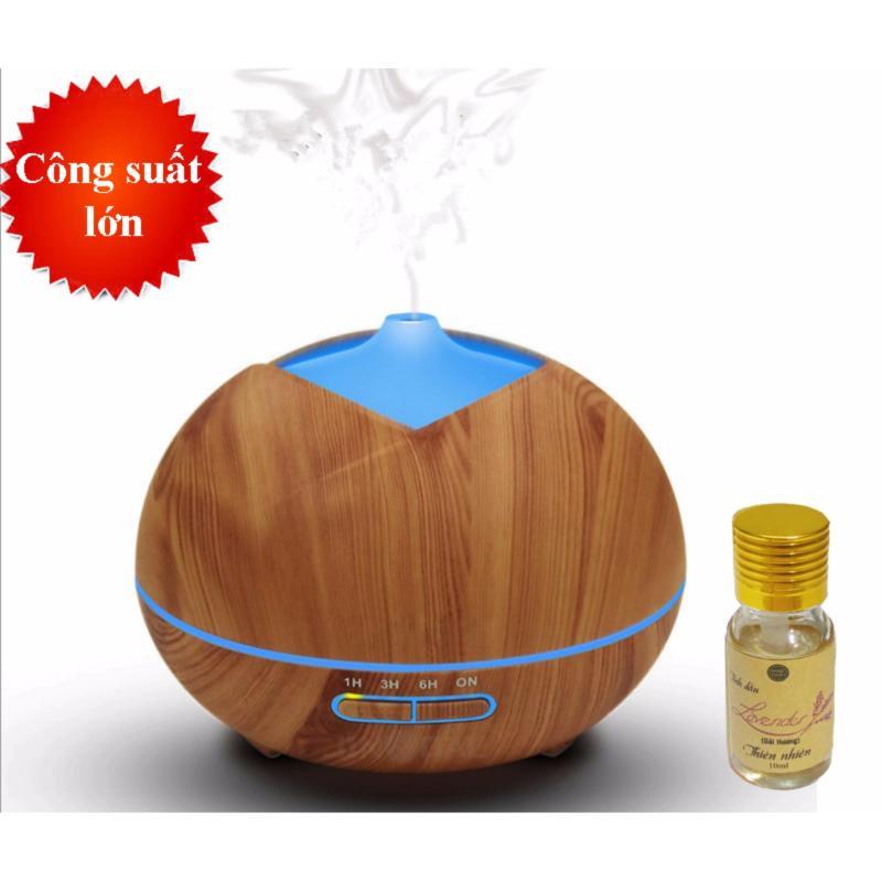 Bảng giá Máy khuếch tán tinh dầu lộc không khí dung tích 300ml tặng 10ml tinh dầu oải hương Ngọc Tuyết