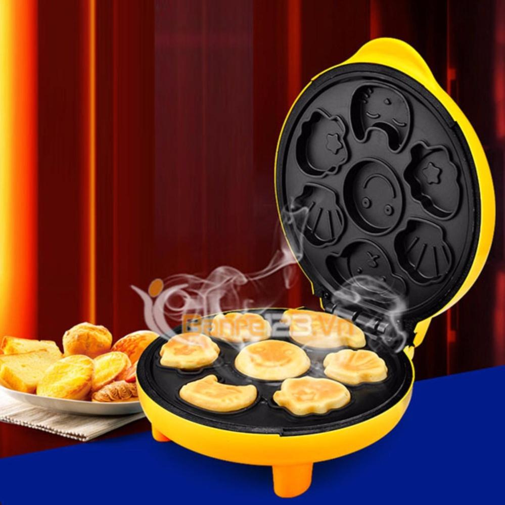 Máy Làm Bánh Hình Thú GDLT01+ Tặng Khuôn Làm Bánh Bông Lan BằngInox Cao Cấp GDLT