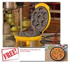 Máy Làm Bánh Nhiều Hình GDLT01+ Tặng Khuôn Làm Bánh Piza 7in GDLT