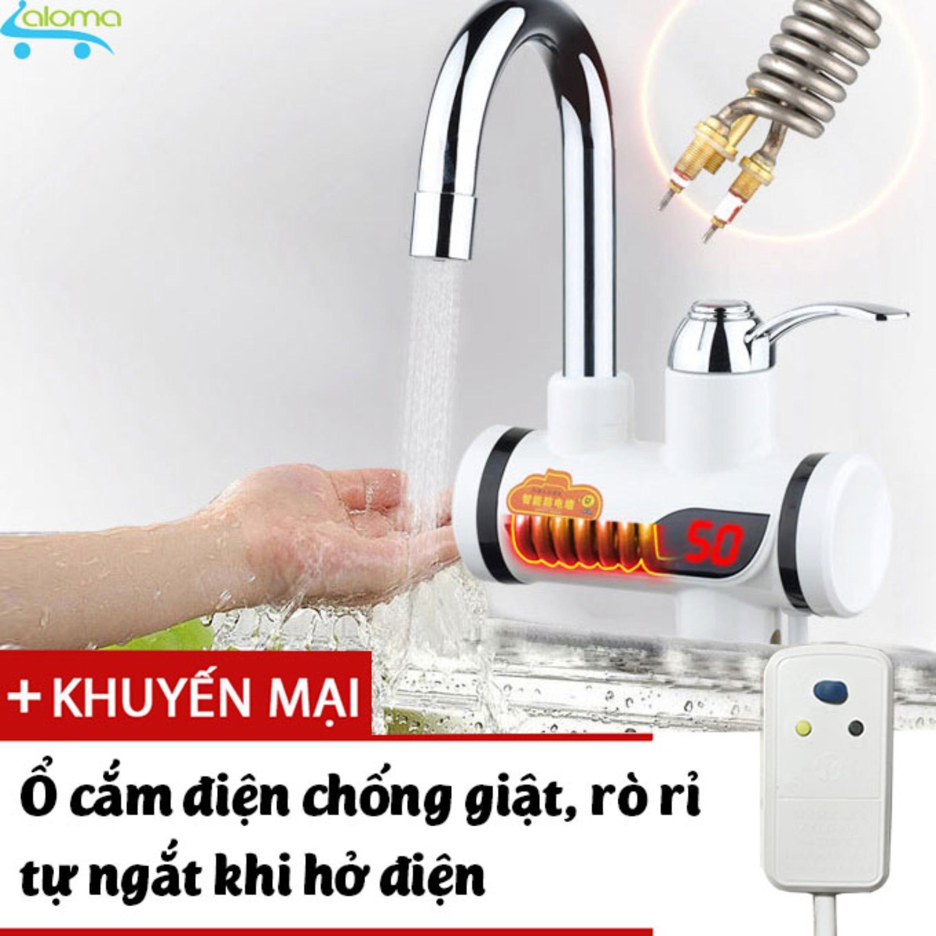 Chi tiết sản phẩm Máy làm nóng nước trực tiếp tại vòi QWater RX-01 kèm ổ điện chống giật