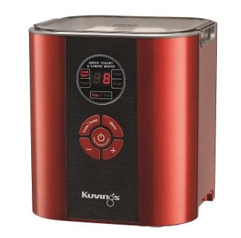 Máy Làm Sữa Chua Và Phô Mai 06 trong 1 Kuvings KGC-712 (Đỏ)