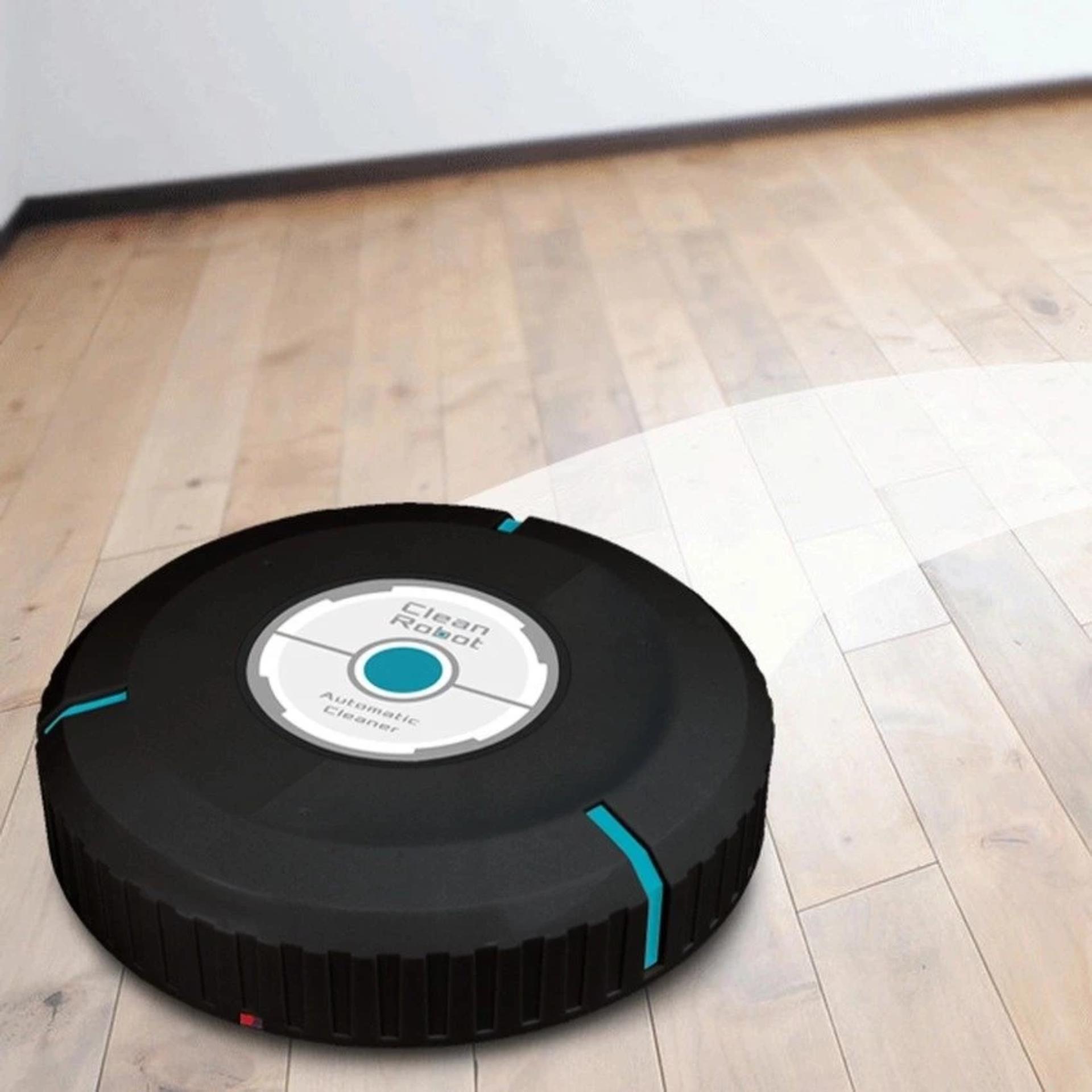 Máy lau nhà tự động Robot clean (Đen)