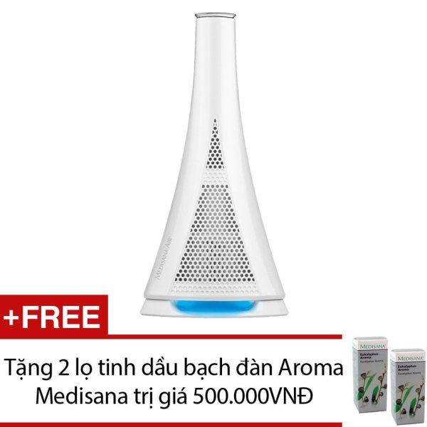 Bảng giá Máy lọc không khí Air Purifier + Tặng 2 lọ tinh dầu bạch đàn Aroma Medisana