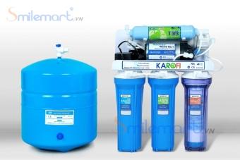 Máy lọc nước Karofi 5 lõi bình áp thép (Không tủ)