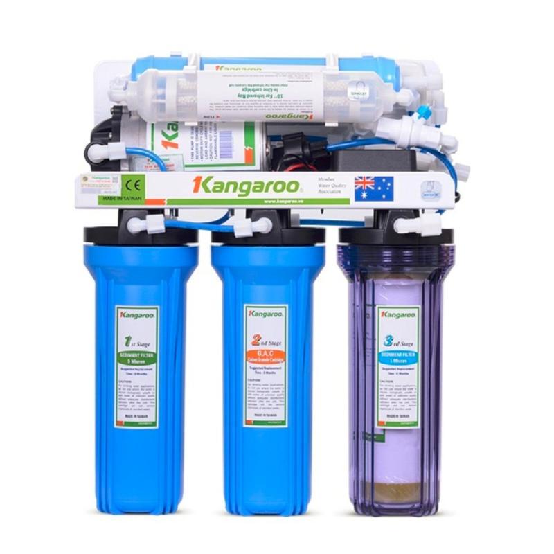 Máy lọc nước RO 6 lõi Kangaroo KG103 + Bộ lõi lọc nước số 1,2,3