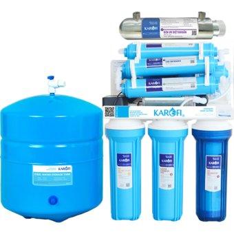 Máy lọc nước RO Karofi, 9 cấp, đèn UV - Không tủ