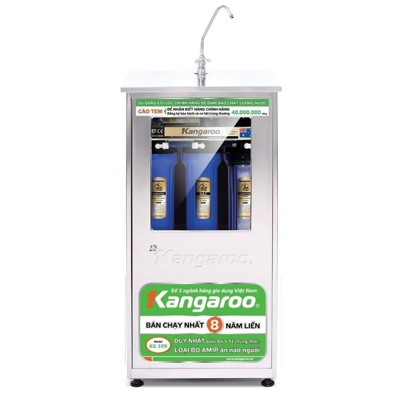 Máy lọc nước R.O vỏ KNT Kangaroo KG113KNT (Inox)