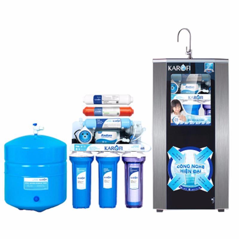Máy lọc nước thông minh IRO 1.1 Karofi, 8 cấp, tủ IQ K8I-1