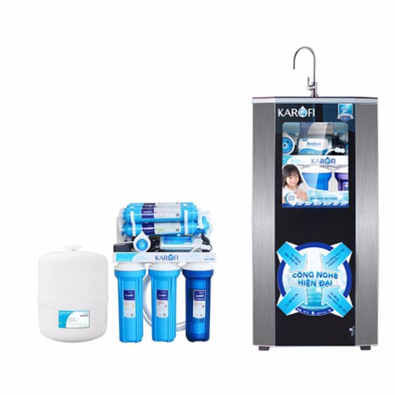 Máy lọc nước tiêu chuẩn sRO Karofi, 7 cấp, tủ IQ KSI70