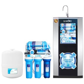 Máy lọc nước tiêu chuẩn sRO Karofi, 9 cấp, tủ IQ - KSI90A