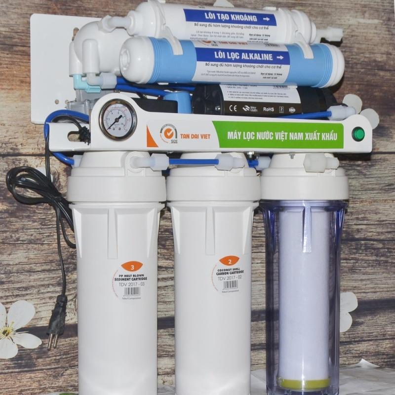 máy  lọc nước tinh khiết uống trực tiếp ( Trắng) 8 cấp