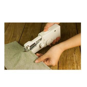 Máy may mini cầm tay gia đình + Tặng dụng cụ lấy ráy tai có đèn màungẫu nhiên