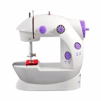Máy may mini tiệc ích tại nhà Sewing Machine SM-202A (Trắng Sứ)