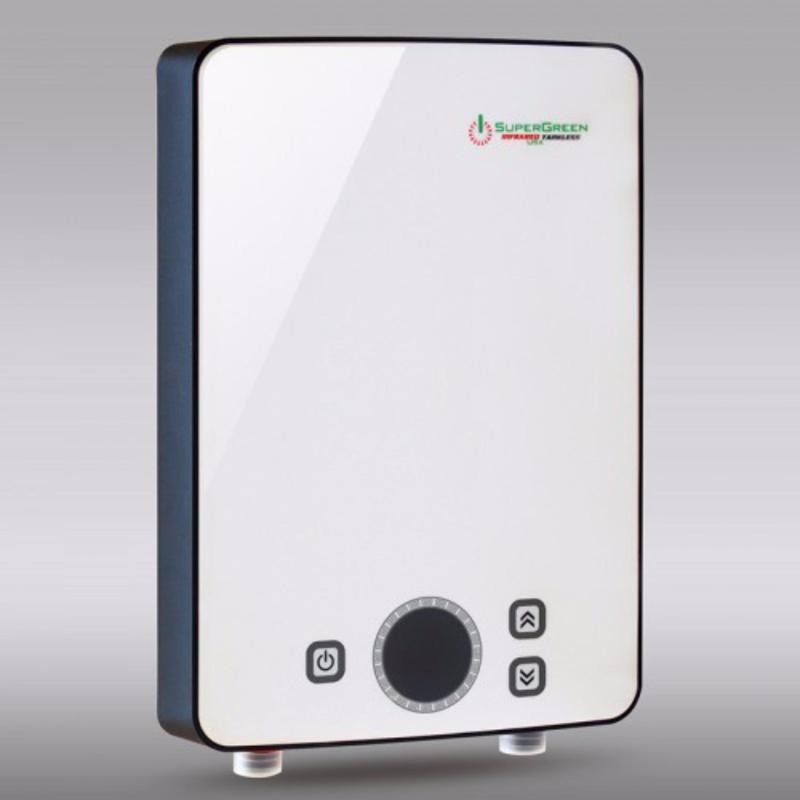 Bảng giá Máy nước nóng hồng ngoại SuperGreen: IR-245 (Trắng) - Hãng phân phối chính thức + Tặng sen tăng áp cao cấp