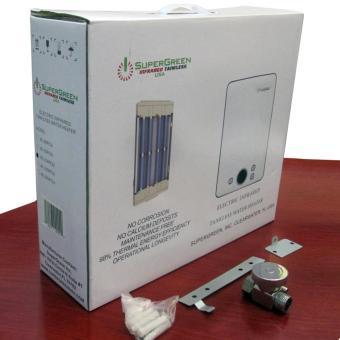 Máy nước nóng hồng ngoại SuperGreen: IR-288 (Trắng) - Hãng phân phối chính thức + Tặng sen tăng áp c...