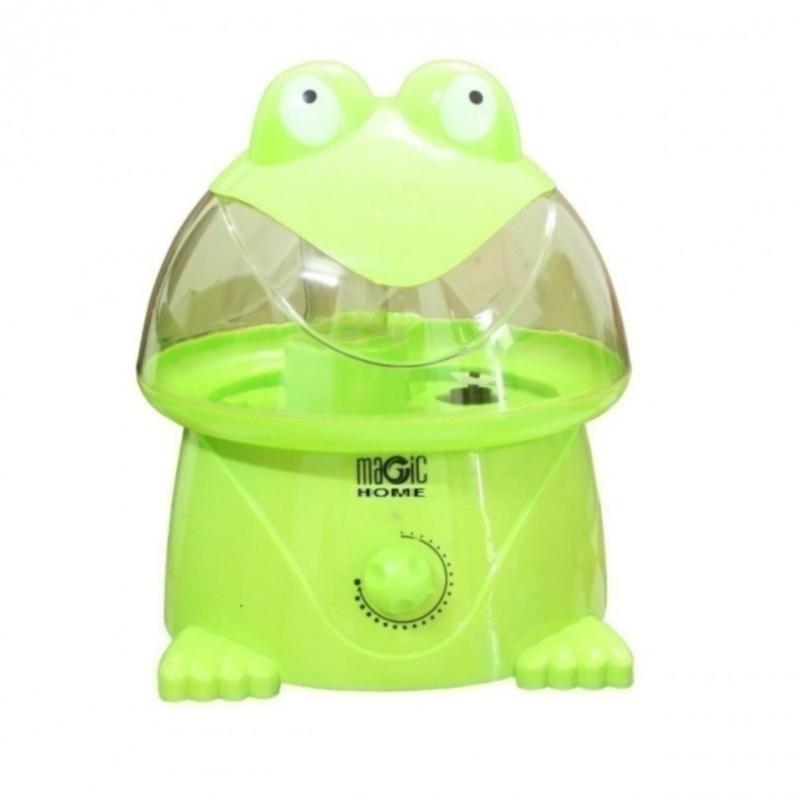 Bảng giá Máy phun sương hơi nước tạo ẩm không khí tiện dụng Magic Home hình ếch (Xanh lá)-Nino shop