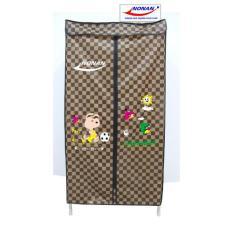 Máy sấy quần áo Nonan MS005 (Nâu caro)