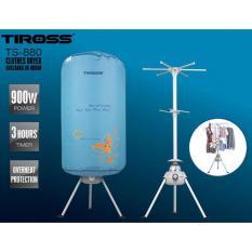 Máy sấy quần áo Tiross TS-880 900W (Xanh)
