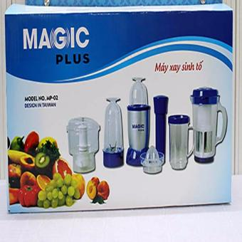 Máy xay sinh tố Magic Plus đa năng 6in1 (Xanh navy)