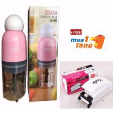 Máy xay sinh tố, xay thịt, xay đá cao cấp hiệu OSAKA + Tặng dụng cụ hàn miệng túi