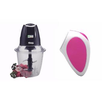 Máy xay thịt cao cấp cối thủy tinh Food Chopper tặng kèm máy massage rửa mặt