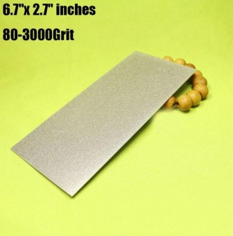 New Thin Diamond Square Knife Tool Sharpening Stone Whetstone 60 - 3000 Grit - intl