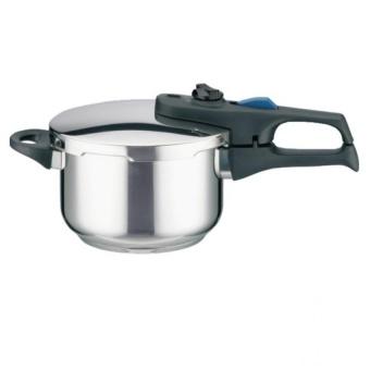 Nồi áp suất bếp từ Elo Praktika Plus XL 6 Lít (Bạc)-ADT shop
